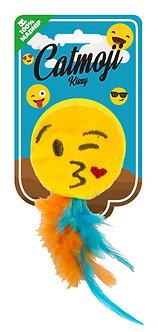 Emoji cat kissy