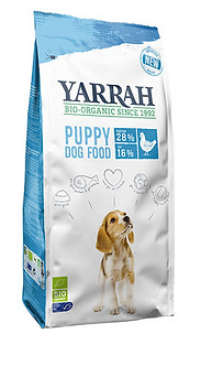 Yarrah - droogvoer puppy bio