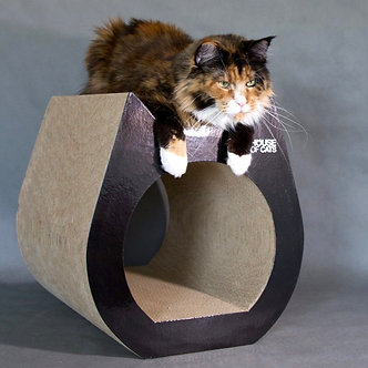Scratching post Cat black