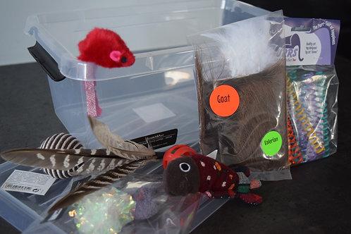Scratch&Purr opbergbox mét speeltjes