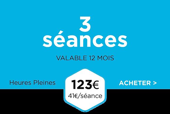 Pack 3 séances