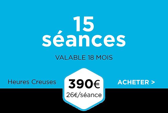 Pack 15 séances