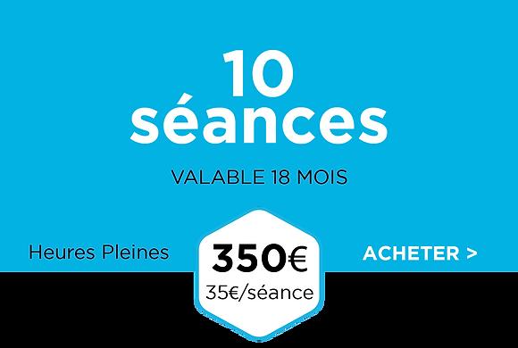 Pack 10 séances