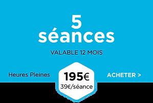 Pack 5 séances