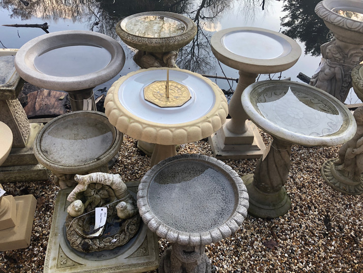 To view the full selection of ornaments we stock, their sizes and prices – please visit us at our showsite in Farnham.