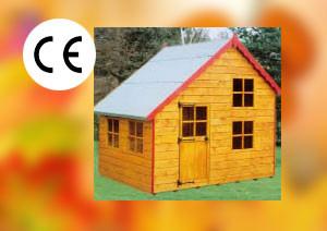 Topwood Bart & Lisa 2-storey Playhouse