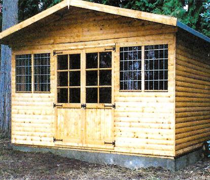 Topwood Hummingbird Loglap Summerhouse