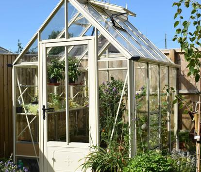 Robinsons Victorian Repton 6'6 wide Aluminium Greenhouse