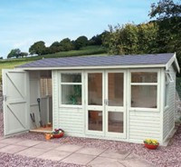 OVER 20 GARDEN OFFICES ON DISPLAY
