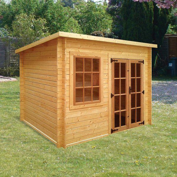Albany Charnwood Pent Log Cabin