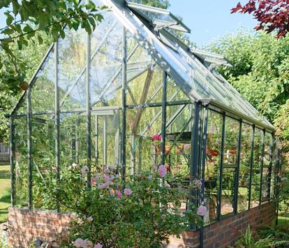 Robinsons Victorian Rushby 9'7 deep Aluminium Greenhouse