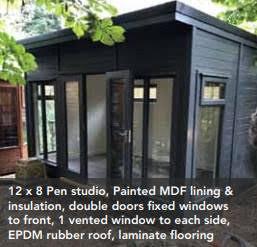 Breckland Garden Studio - Pent