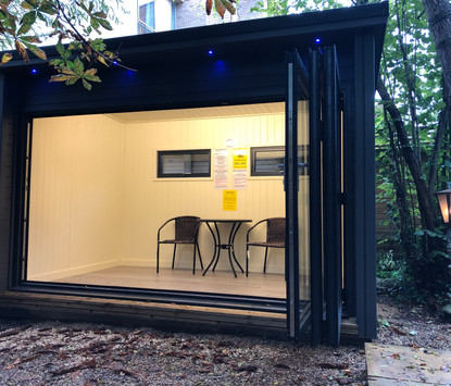 Breckland Garden Studio - Bi-fold studio