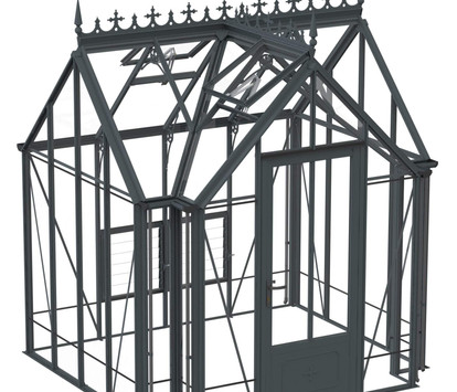 Robinsons Victorian Raynham 7'6 Deep Aluminium Greenhouse