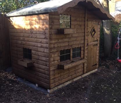 Topwood Jack & Jill 2-storey playhouse