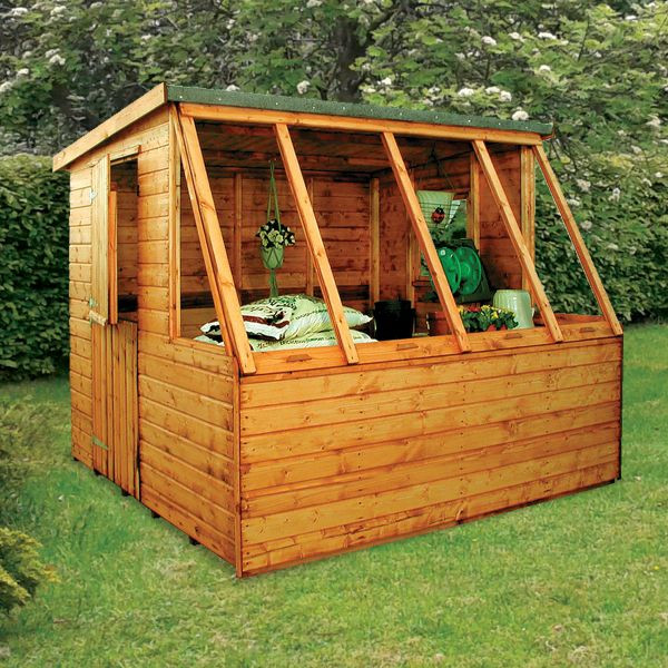 Albany Dual 8 x 8 Potting Shed