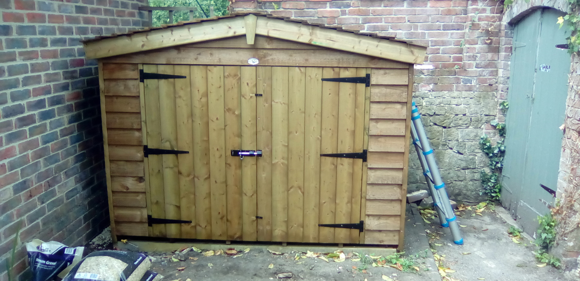 Topwood Featheredge Mini Shed