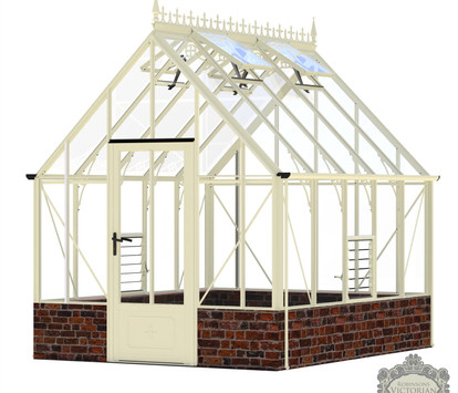 Robinsons Victorian Rushmoor 8'7 wide Aluminium Greenhouse