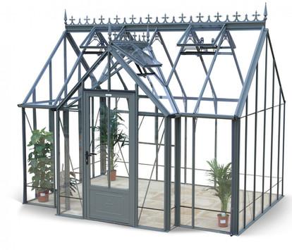 Robinsons Victorian Radley 9'7 deep Aluminium Greenhouse