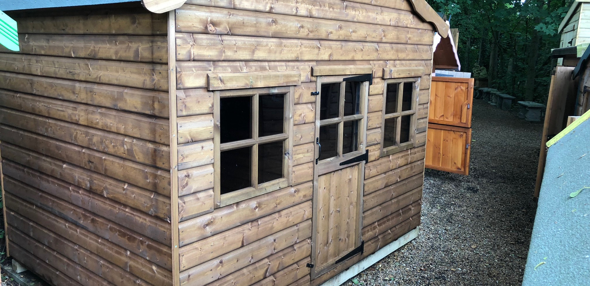 Topwood Shopkeepers Cabin 1-storey Playhouse