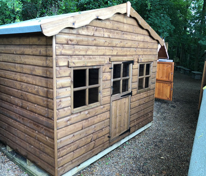 Topwood Shopkeepers Cabin 1-storey Playhouse