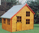 Topwood Bart & Lisa 2-storey Playhouse