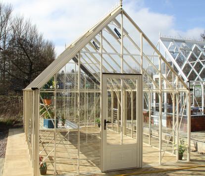 Robinsons Victorian Reigate 11'7 wide Aluminium Greenhouse