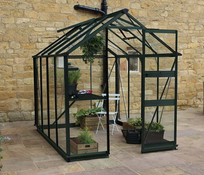 Eden Burford Aluminium Greenhouse