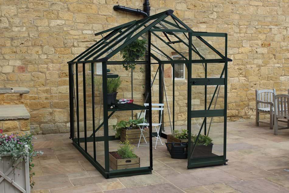 Eden Burford Aluminium Greenhouse