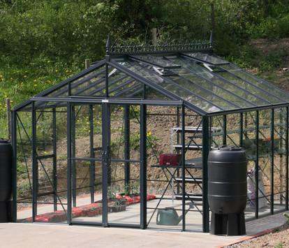 Robinsons Rosette 10'7 wide Aluminium Greenhouse