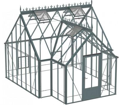 Robinsons Victorian Reicliffe 15'9 deep Aluminium Greenhouse
