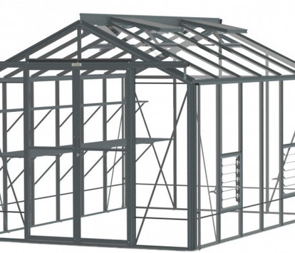 Robinsons Royale 8'6 wide Aluminium Greenhouse