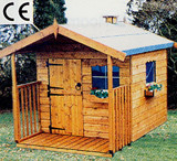 Topwood Den 1-storey playhouse