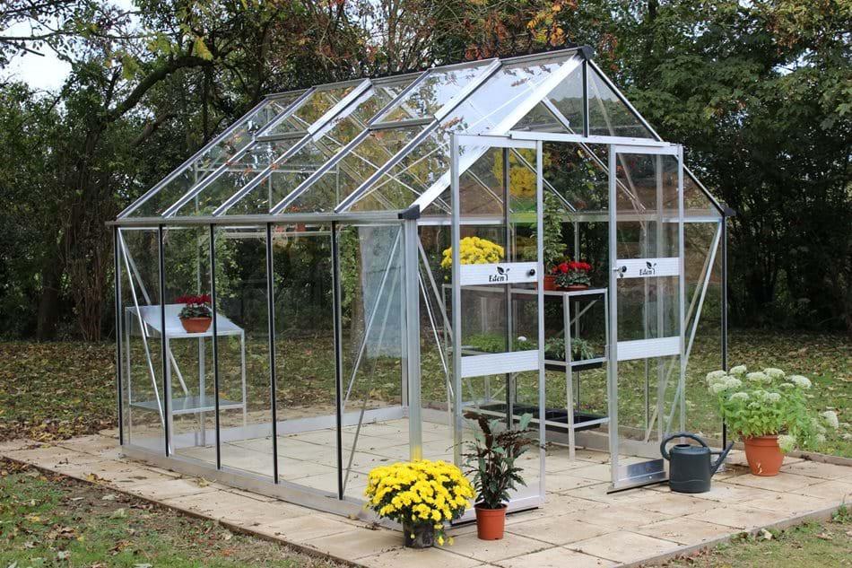 Eden Blockley Aluminium Greenhouse