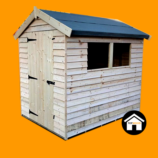 Topwood Essentials Featheredge Apex Shed