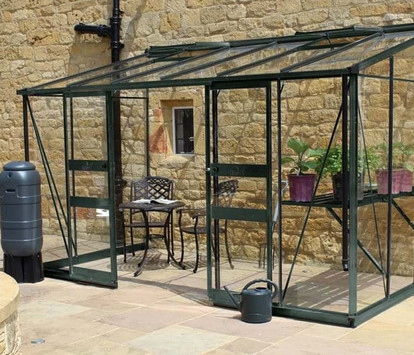 Eden Broadway Lean-to Aluminium Greenhouse