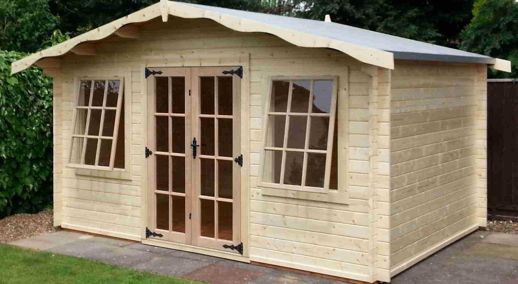 Albany Charnwood Log Cabin