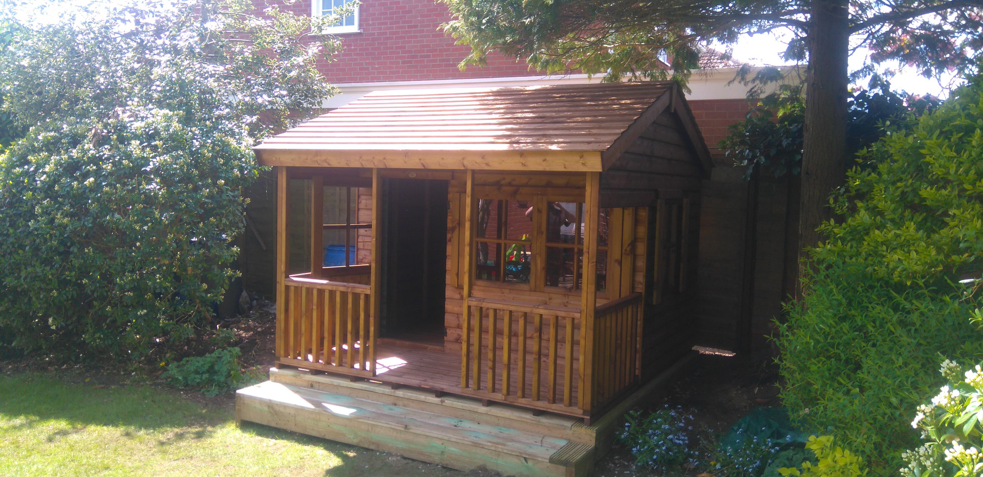 Topwood Ranch House 1-storey playhouse
