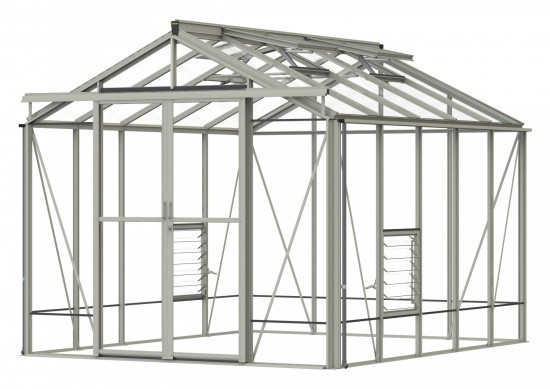 Robinsons Royale 8'6 wide Aluminium Greenhouse