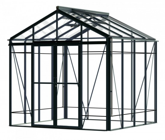 Robinsons Royale Reach 8'8 wide Aluminium Greenhouse