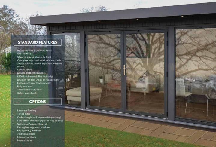 Malvern Bespoke Cedar Garden Rooms - The Hanley Plus