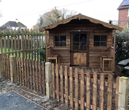 Topwood Playhouse 1-storey playhouse