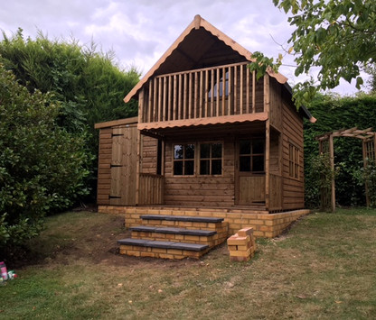 Topwood Alpine 2-storey Playhouse