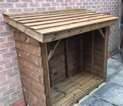 Topwood Featheredge Log Store