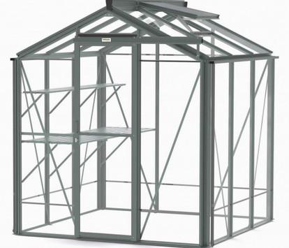 Robinsons Regent 6'5 wide Aluminium Greenhouse