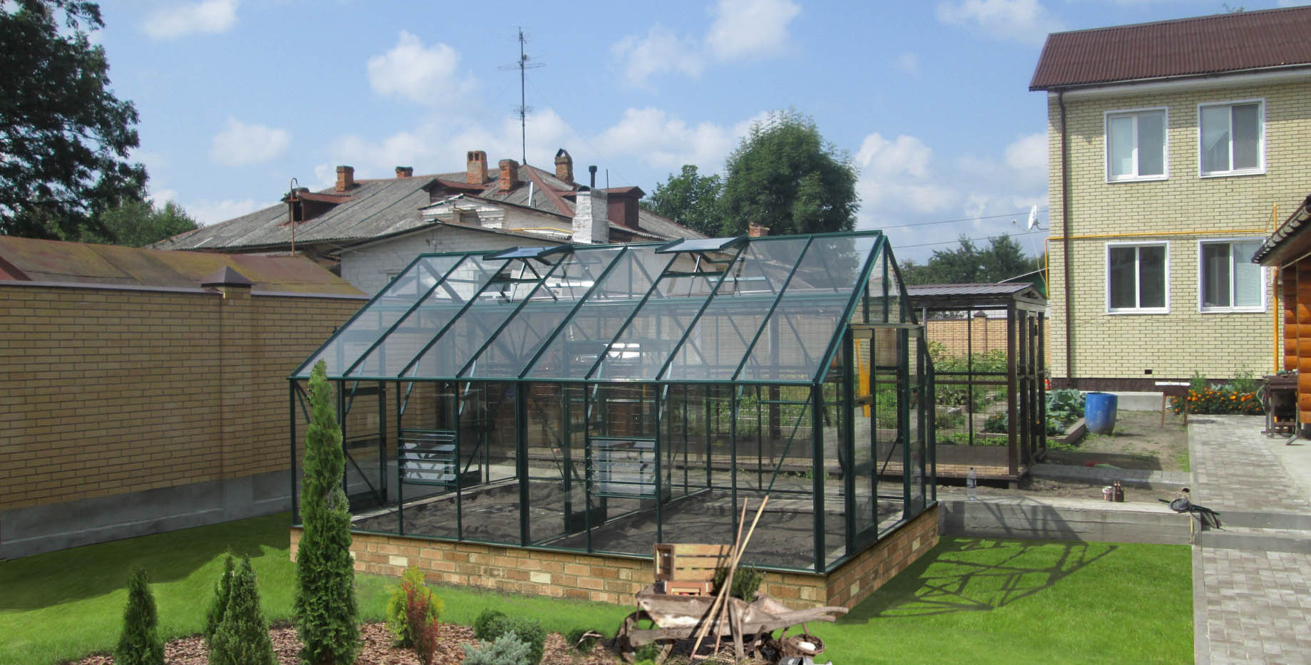 Elite Greenhouses - Classique 12'5 Wideg
