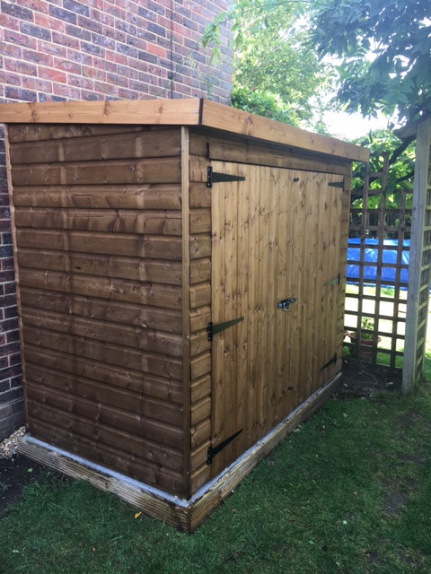 Topwood Mini Shed T&G Shiplap
