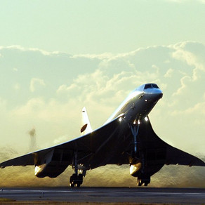 Why did the Concorde make its last touchdown?