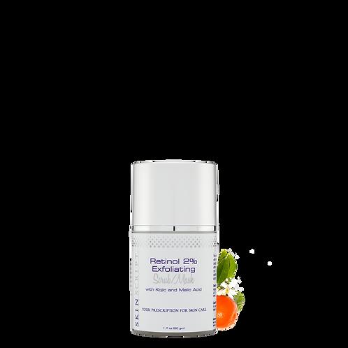 Retinol 2% Exfoliating Scrub/Mask