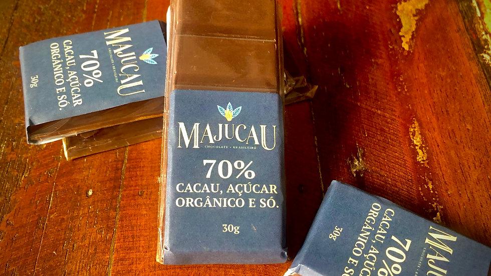 Majucau Barra de Chocolate 70% 30g